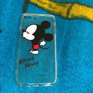 clear mickey mouse case